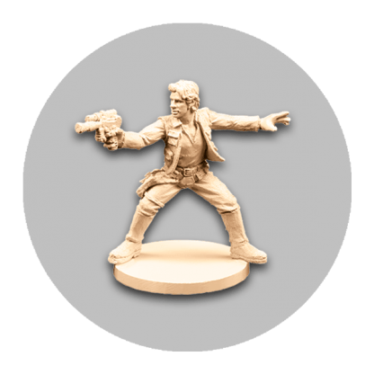 Star Wars Imperial Assault HanSolo